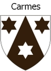 Coat of arms of the Carmelite order