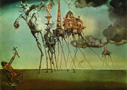 Salvador Dali : The Temptation of St.Anthony
