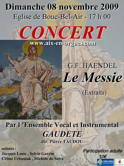 Ensemble Vocal & Instrumental GAUDETE à Puyricard