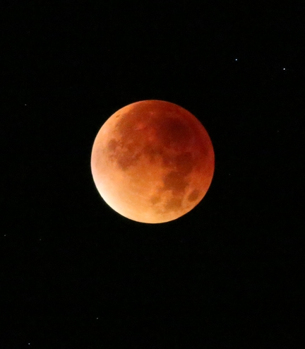 Eclipse totale de Lune - 28.09.2015
