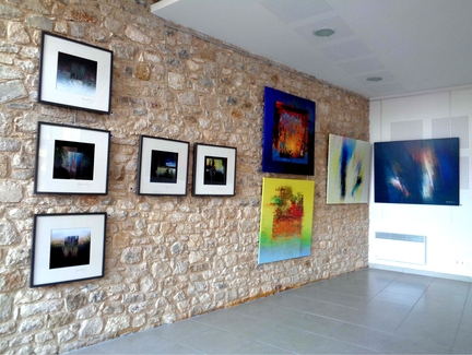Pierre Quertinmont - Digital Art - Exposition 2015 à Gigondas - Vaucluse