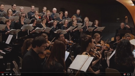 Live recording: Concert performance of Misa Tango by Martín Palmeri. Conducted by David Navarro Turres, BachWerk choir and Brussels Philharmonic Orchestra