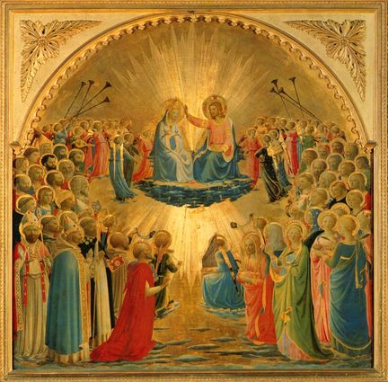 2011 - Musée Jacquemart-André - The Coronation of the Virgin de Fra Angelico